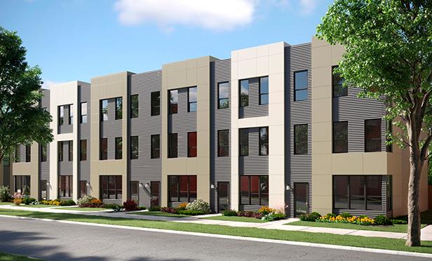 Lexington Village at Avondale,Karlov and Belmont Avenues, Chicago, IL