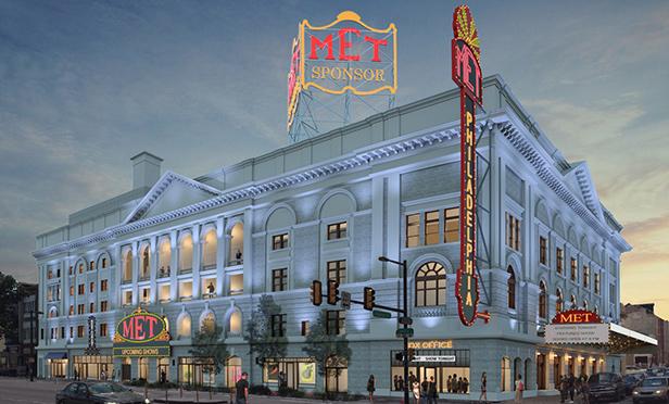 Rendering of The Metropolitan Opera House, Philadelphia, PA (AOS Architects)