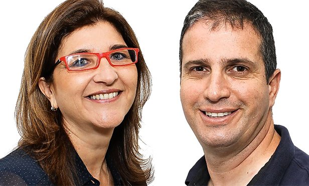 Haya Zilberboim, left, and Oz Cohen, co-founders and partners of Emma Capital