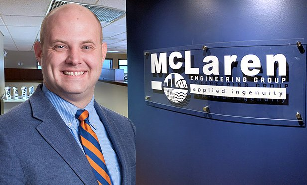 Matthew B. Kawczenski,Pennsylvania regional director who leads the Lehigh Valley office of McLaren Engineering Group