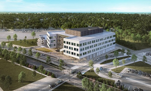 Rendering of new spec lab about to start construction at ON3, Clifton-Nutley, NJ