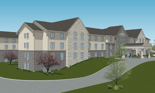 Rendering of Hellenic Senior Living, Mishawaka, IN
