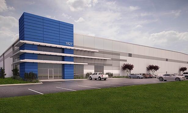 Rendering of Rickenbacker West Industrial Center I, Columbus, OH