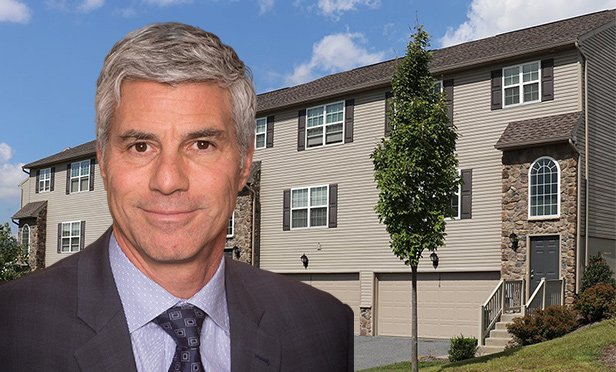 Robert Hollland, president, The Kislak Company, with Crooked Hill Townhomes, Harrisburg, PA