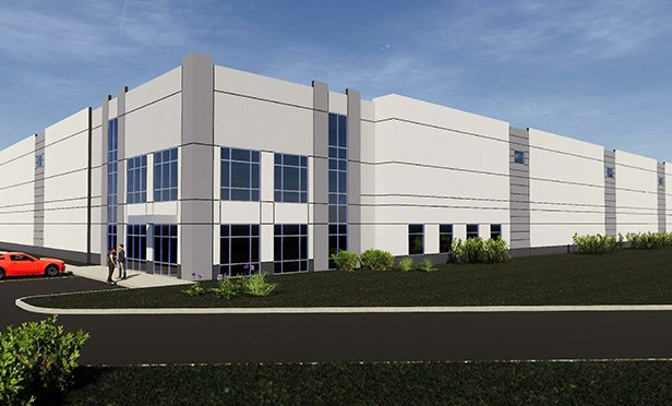 Rendering of Plainfield Distribution Center,  9500 Bradford Road, Plainfield, IN