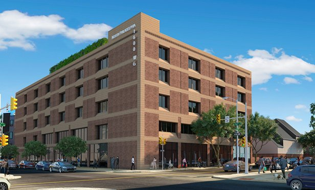 Rendering of The Civic, 1600-1650 W. Girard Avenue, Philadelphia, PA