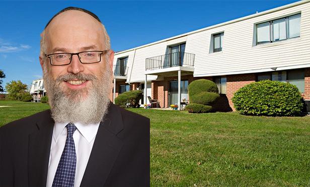 Laura's Glen Apartments, Pennington, Salem County, NJ, with Kislak Company senior vice president Barry Waisbrod