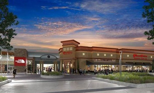Rendering of Cheesecake Factory at Woodland Mall, Grand Rapids, MI