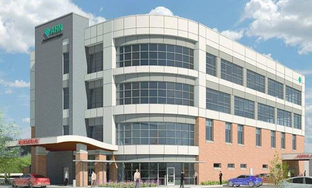 Rendering of AHN-McCandless Neighborhood Hospital, McCandless, PA