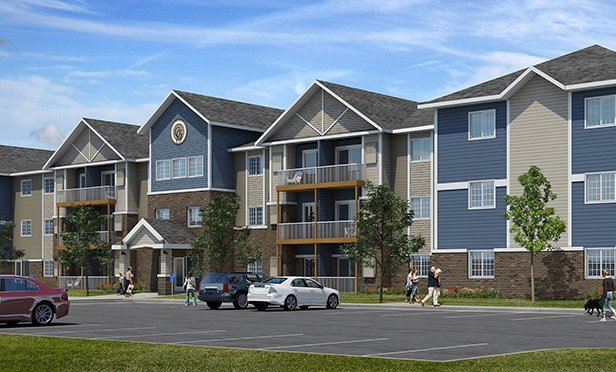Rendering of Gateway Green Apartments, Forest Lake, MN