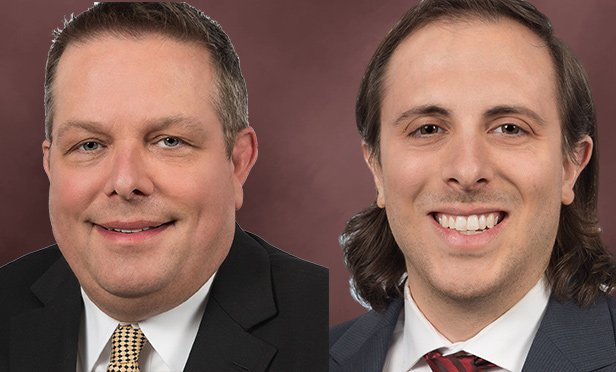 Todd Albert, left, managing director, and Robert Delisio, vice president, JLL, Pittsburgh, PA