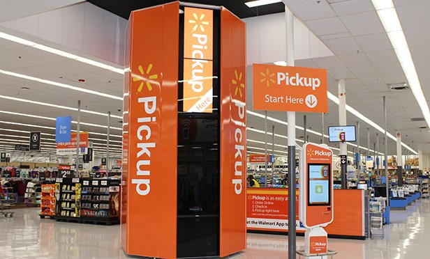 """Walmart will expand the network of its """"Pickup Tower"""" vending machines for customers to retrieve online orders delivered to its stores, to an additional nine NJ stores"""