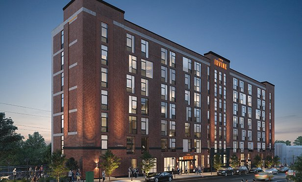 Rendering of The Irvine Apartments, 780 South 52nd Street, Philadelphia, PA