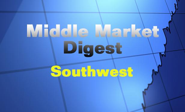 Middle Market Digest: Southwest