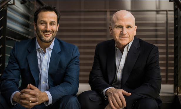 From Left to Right - Robert Lindner and John Carrick, Co-Founders of Integrated Capital Management