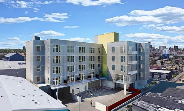 RiDE micro apartment community