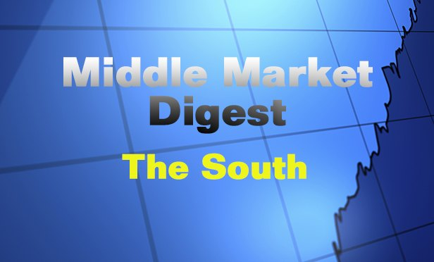 Middle Market Digest: This Week in the South and Mountain Regions