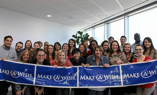 Brokerage Grants Kids' Wishes Through Fundraising
