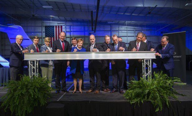 Gulfstream beam signing