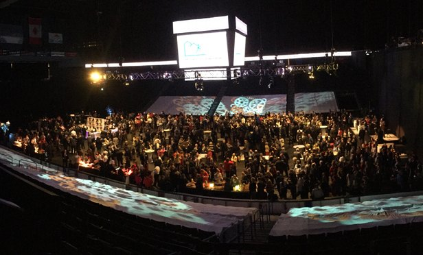 Ontario Citizens Business Bank Arena was home to 1,200 business professionals for the 2017 State of the County.