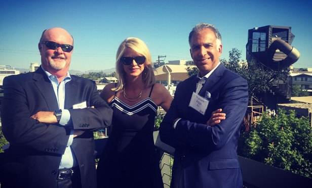 JLL Retail CEO Greg Maloney, CMO Jill Kouri and president of retail brokerage Naveen Jaggi