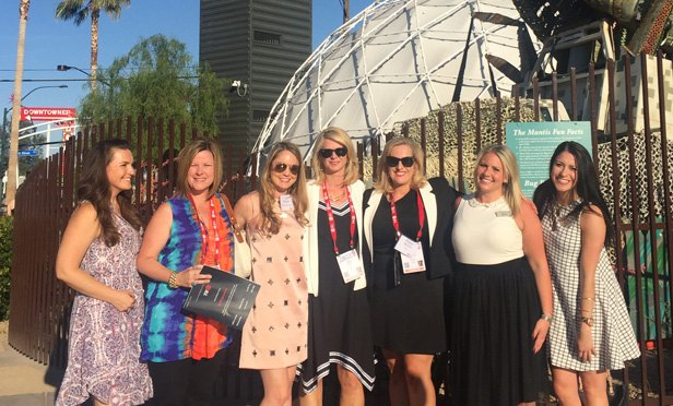 JLL Retail's marketing team and the Dealey Group that produced #LetsGoShopping at the container park