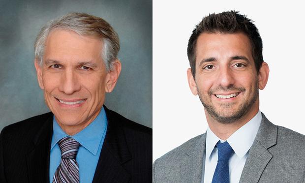 Saul Ewing Arnstein & Lehr partner  Ronald Fieldstone and McDermott Will & Emery partner Steven Hadjilogiou