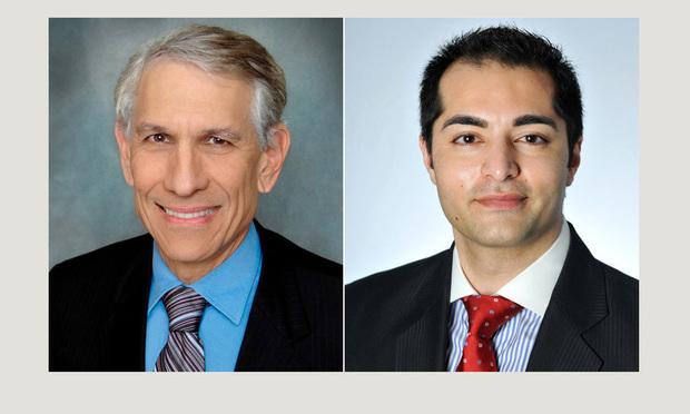 Saul Ewing Arnstein & Lehr partner Ronald Fieldstone in Miami and associate Rohit Kapuria in Chicago.