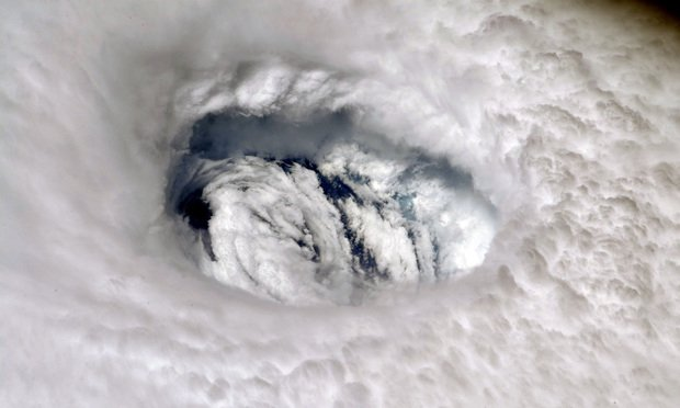 Hurricane Dorian. Photo: NASA