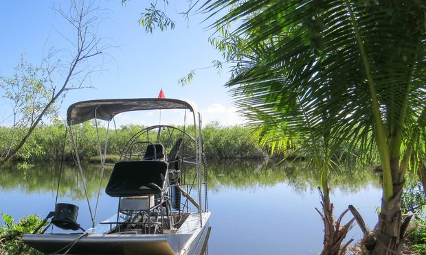 Airboat in the Florida Everglades. Photo by Robert Blouin/Shutterstock.com.