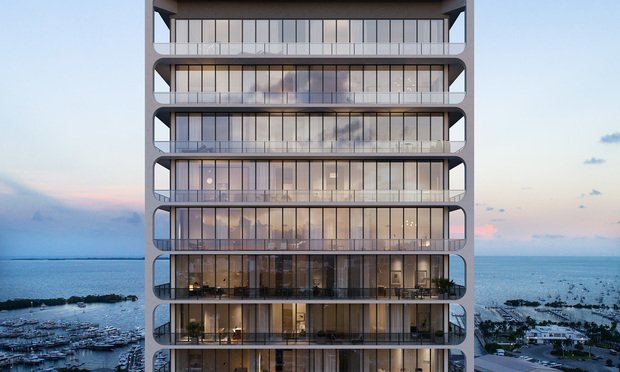 A rendering of Terra Group's 20-story, 121-unit condominium branded as Mr. C Residences (courtesy photo)