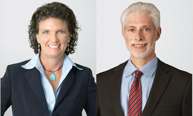 Melissa S. Turra(left) and Steven D. Lear(right)