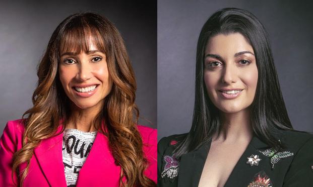 Jolie Balido, left, and Tina van der Ven, right, Co-CEOs of NewStar Media.