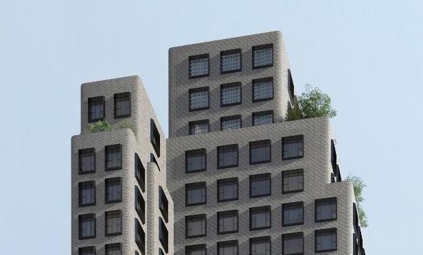 537 Greenwich Street condo rendering