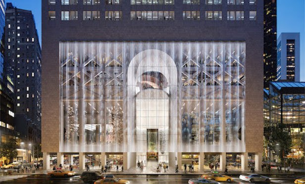550 Madison Avenue redesign