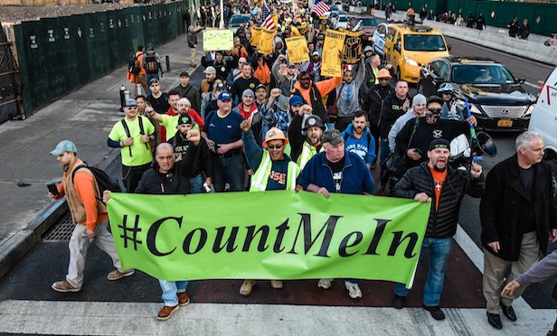 #CountMeIn protest, Hudson Yards