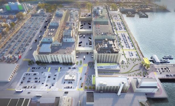Brooklyn Army Terminal solar garden