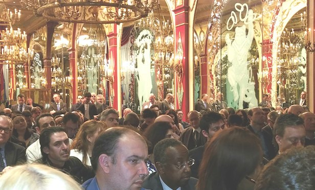EMBCA audience at the Russian Tea Room