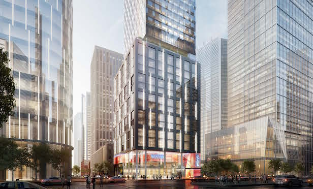 Hudson Yards Marriott architectural rendering