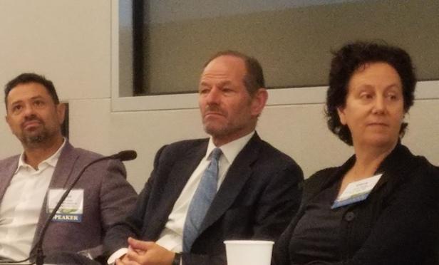 Eran Chen, Eliot Spitzer, Claire Weisz