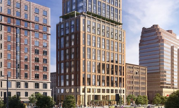 2330 Broadway, design by SLCE Architects/ Rendering by ARC Shadow