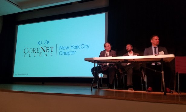 CoreNet affording housing event at Museum of the City of NY