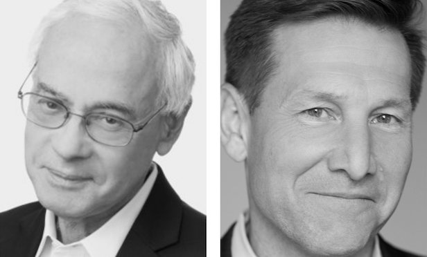 From left: Emanuel J. Friedman and Neal Wilson