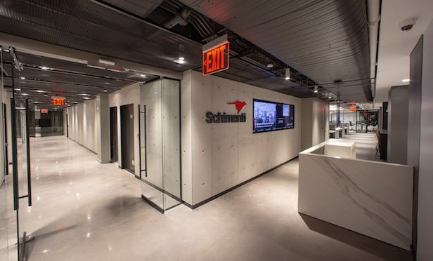 Schimenti Construction's new headquarters at 575 Lexington Ave.