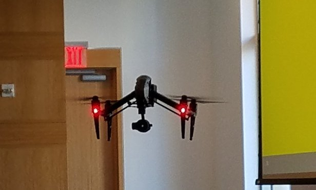 UAS Drone piloted by MC Consultants, Inc.