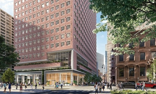 100 Pearl St./ Architectural rendering, credit: Visualhouse