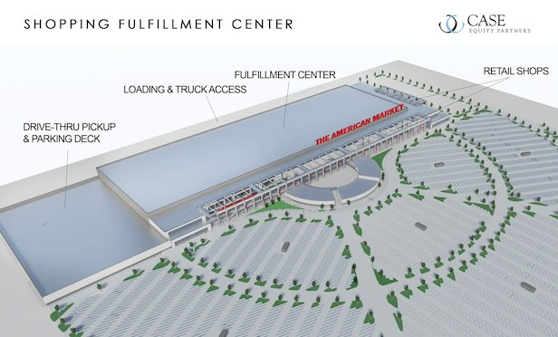 JLL/ Case Equity Partner's SFC rendering by Lamar Johnson Collaborative