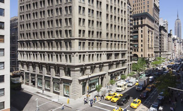 100-104 Fifth Ave./ Image provided by Clarion Partners