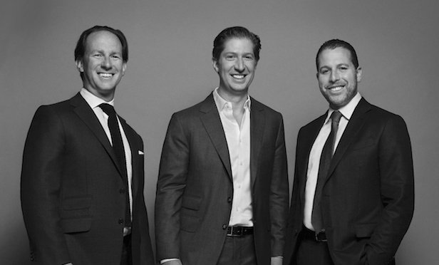 Madison Realty Capital managing partners from left: Adam Tantleff, Brian Shatz and Josh Zegen