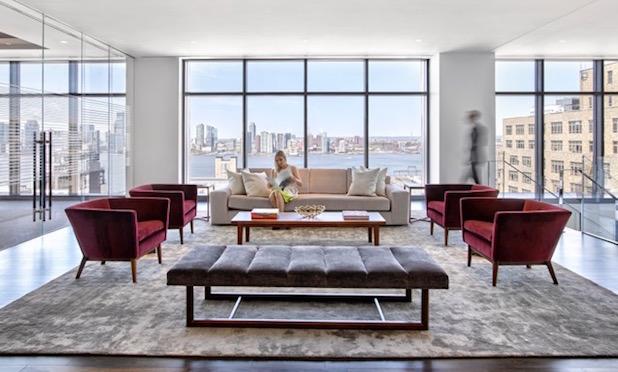 330 Hudson interiors/ Image credit: Gensler